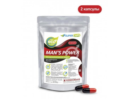 Возбуждающие капсулы для мужчин Man's Power (содержит L-карнитин)