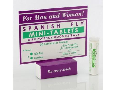 Возбуждающие таблетки для двоих Spanish Fly mini-tablets (30 шт.)