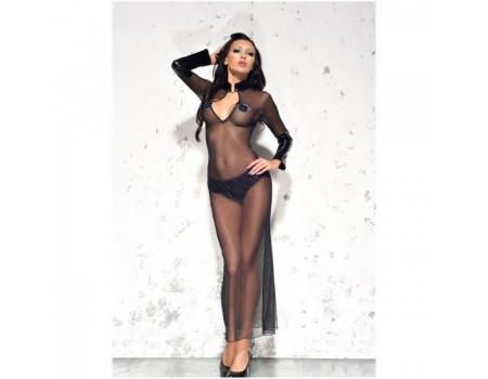 Длинное полупрозрачное платье Sarah Me Seduce SM