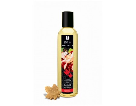 """Масло массажное для тела Shunga Organica Maple Delight """"Кленовое наслаждение"""" (250 мл)"""