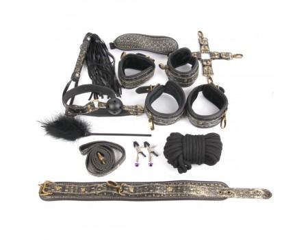 NTB-80469 | Набор для BDSM-игры NOTABU (10 предметов)