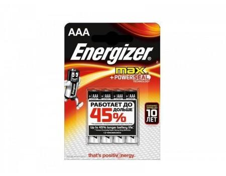 Набор из 4-х батареек Energizer (тип AAA)