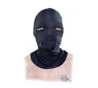 Эластичный шлем с молниями Zipper Face Fetish