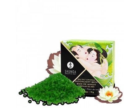 Ароматическая соль для ванны Shunga MOONLIGHT BATH Lotus Flower (75 г)