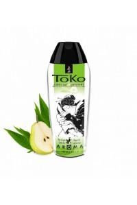 Лубрикант на водной основе с ароматом груши и зеленого чая TOKO