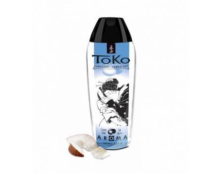 Лубрикант на водной основе с ароматом кокоса TOKO (165 мл)