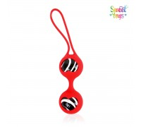 Стеклянные шарики на силиконовой сцепке Sweet Toys