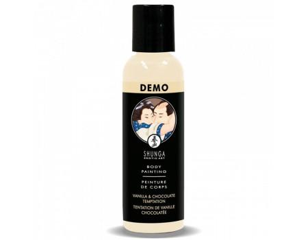 Съедобная краска для тела со вкусом ванили и шоколада Shunga 60 мл DEMO