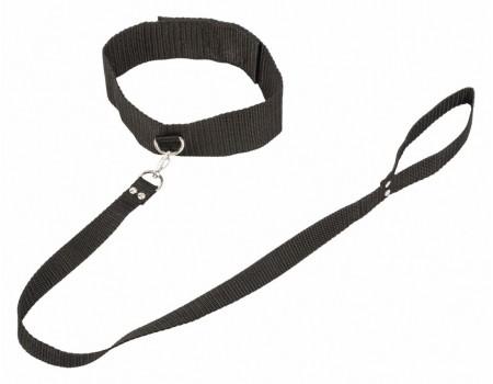 Ошейник с поводком Bondage Collection Collar and Leash