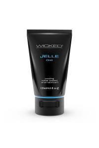 Анальный охлаждающий лубрикант на водной основе Wicked Jelle Chill