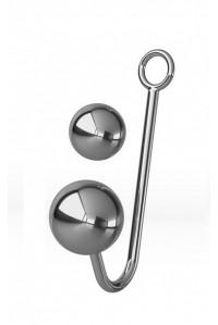 Анальный крюк для подвешивания со сменным шариком