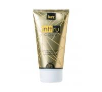 Массажный гель INTT RU Gold с цветочным