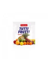 Оральный гель Tutti-Frutti со вкусом тропических фруктов