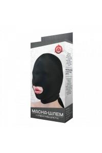 Эластичная маска-шлем с отверстием для рта