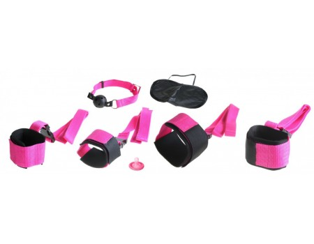 Набор для фетиша PINK PASSION BONDAGE KIT