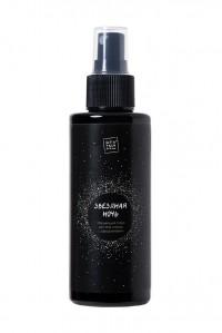 Мерцающий серебристый ароматизированный спрей для тела и волос с афродизиаками «Звездная ночь»