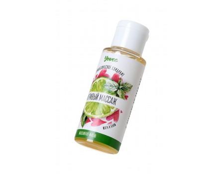 Масло для массажа Игривый массаж с ароматом мяты и лайма Yovee (50 мл)