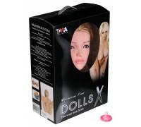 Большегрудая блондинка с реалистичной вагиной Dolls X