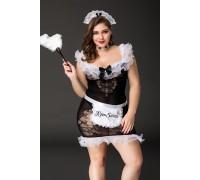 Костюм горничной Candy Girl Fanny XXL (6 предметов)