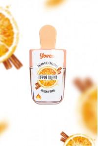 Бальзам для губ Yovee «Горячий поцелуй» со вкусом апельсина и корицы