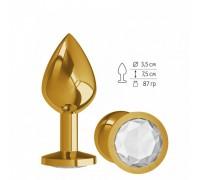 Средняя золотая анальная втулка