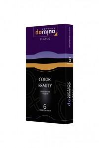 Разноцветные гладкие презервативы DOMINO Colour Beauty