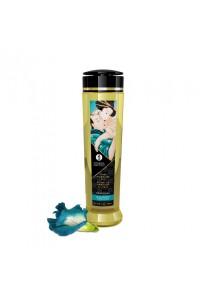 Натуральное возбуждающее массажное масло Shunga SENSUAL с ароматом Остров Цветов