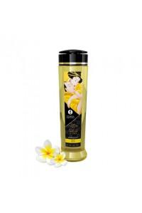 Натуральное возбуждающее массажное масло Shunga SERENITY с ароматом моной