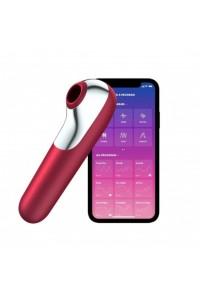 Вакуум-волновой стимулятор Satisfyer Dual Love  синхронизируется со смартфоном