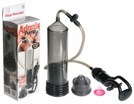 Вакуумная помпа с двумя сменными насадками Adonis Pump