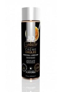Вкусовой лубрикант на водной основе JO Gelato Creme Brulee (Крем Брюле) (120 мл)