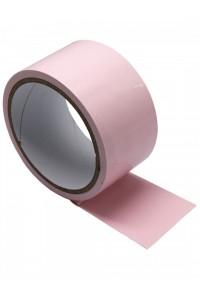 Розовый скотч для бондажа