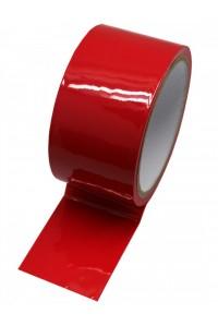 Красный скотч для бондажа