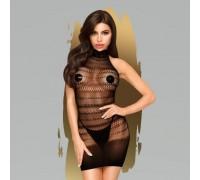 Мини-платье в мелкую сетку Penthouse Epic night XL