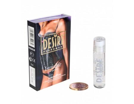 Феромоны женские для привлечения мужчин Invisible (без запаха) 5 мл