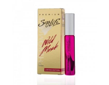 "Ароматизирующее масло для женщин ""Wild Musk"" Premium философия аромата Blue Amber №8 (10 мл)"