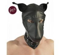 Кожаный шлем собаки Devotion Maske