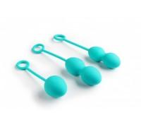 Комплект из трех шариков Nova Exercise Ball (зеленые)