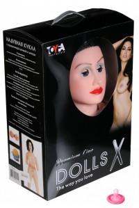 Куколка с реалистичной вагиной и мягкими сосочками Dolls X