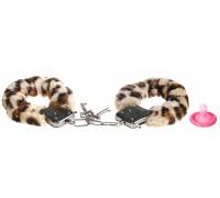 Леопардовые наручники Love Cuffs
