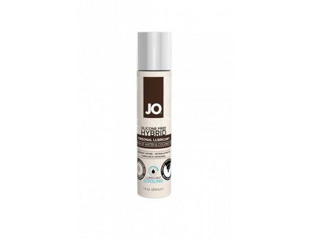 jo-10555 | Лубрикант на водной основе с охлаждающим эффектом Hybrid Lubricant COOLING (кокос) (30 мл)