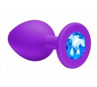Малая силиконовая пробочка с голубым