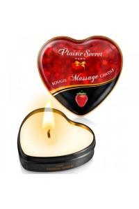 Массажная свеча с ароматом клубники Bougie Massage Candle (35 мл)