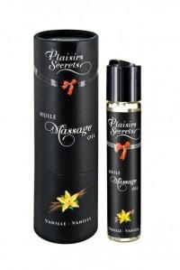 Массажное масло с ароматом ванили Huile Massage Oil