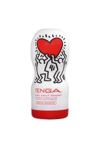 Мастурбатор TENGA&Keith Haring Deep Throat (глубокая глотка)