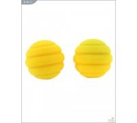 Металлические шарики с спиральным