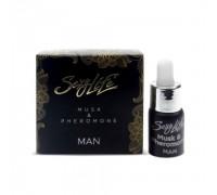 Концентрированный мужской аромат