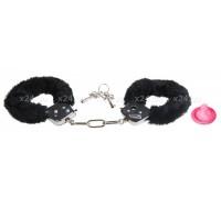 Наручники с черным мехом Love Cuffs
