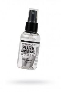 """Парфюмированная вода для женщин для тела и белья с феромонами и ионами серебра Natural Instanct """"PURE CRYSTAL"""" 50 мл"""