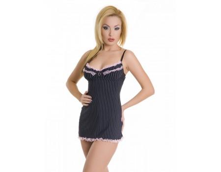 Платье с разрезом сзади